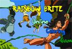 Радужная игра Брайт   онлайн раскраска