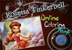 Розетта Тинкербелл   онлайн раскраска