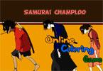 Самурай Джек   онлайн раскраска