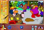 Семья Пингвинов онлайн раскраска
