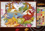 Симба   онлайн раскраска