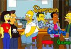 Симпсон   онлайн раскраска