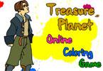 Сокровища планеты онлайн раскраска