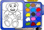Тедди 2 онлайн раскраска