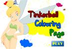 Тинкербелл онлайн раскраска