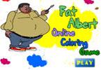 Толстый Альберт   онлайн раскраска