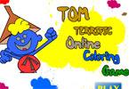 Том Ореховый взломщик онлайн раскраска