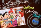 Флинстоуны  3 онлайн раскраска