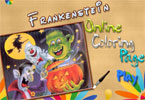 Франкенштейн  онлайн раскраска