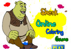 Шерк онлайн раскраска
