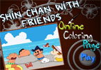 Шин Чан   онлайн раскраска