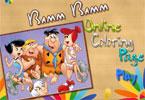 Bamm Bamm   онлайн раскраска