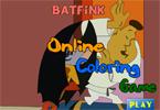 Batfink   онлайн раскраска