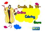 Cruella De Vil онлайн раскраска