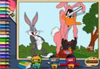 Daffy Bugs онлайн раскраска