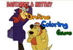 Dastardly и Muttley онлайн раскраска