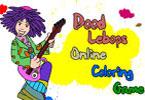 Dood Lebops   онлайн раскраска