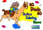 Go Diedo Go   онлайн раскраска