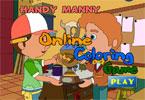 Handy Manny   онлайн раскраска
