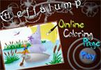 Слонопотам онлайн раскраска