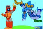 Rock Man   онлайн раскраска