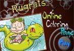 Rugrats онлайн раскраска