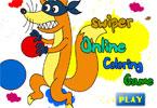 Swiper   онлайн раскраска