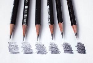 Какие простые карандаши лучше подходят для рисования.