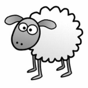 Как легко и быстро нарисовать овцу